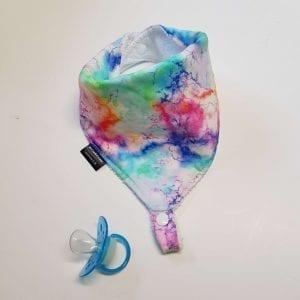 Tie Dye Dummy Bib