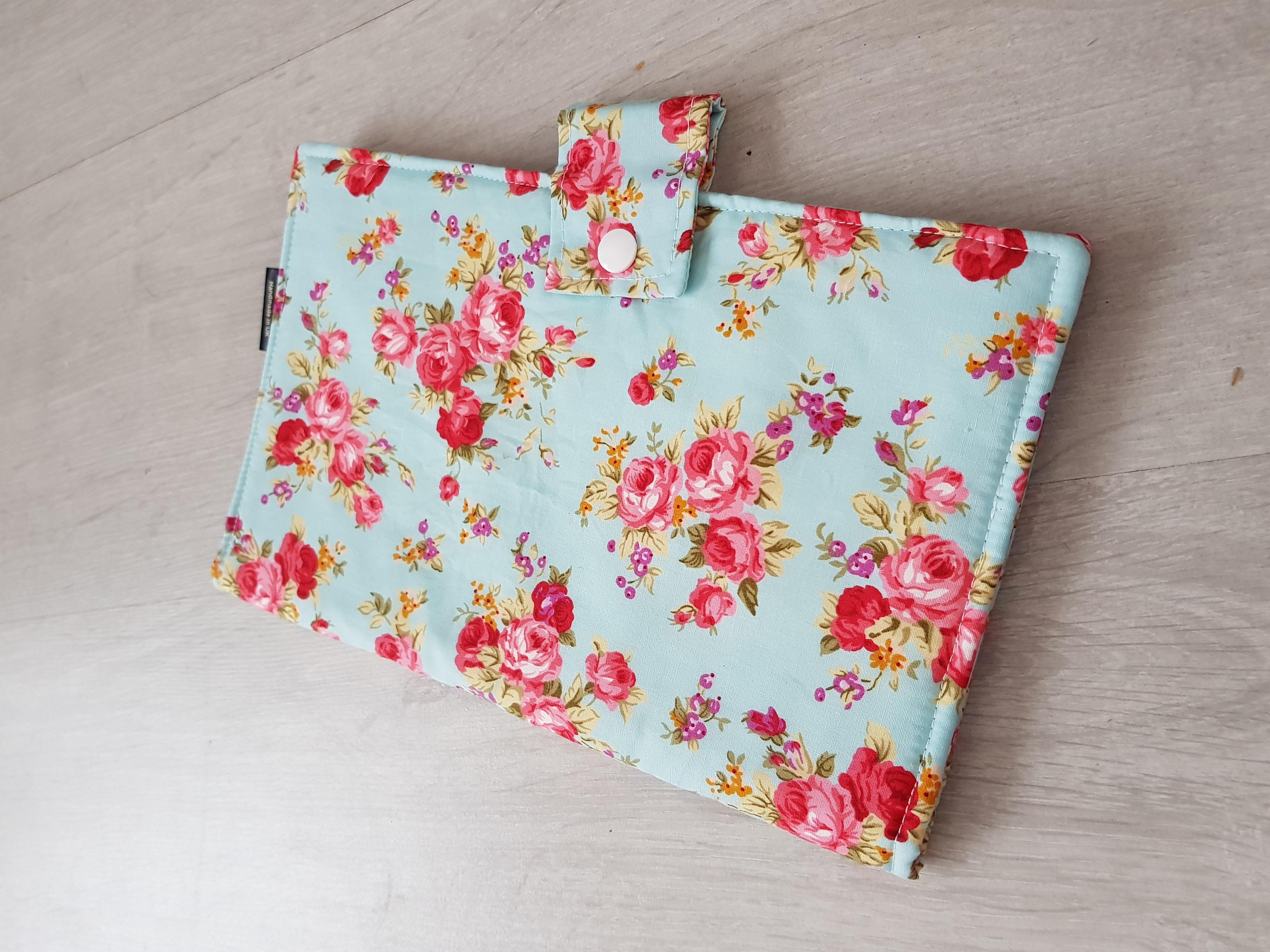 Sky Floral Nappy Wallet