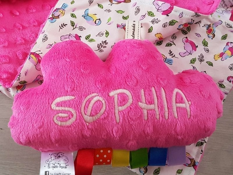 Cerise Pink Cuddle Cloud
