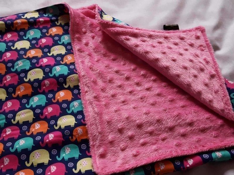 A Design Your Own -  Pram Size Cuddle Blanket