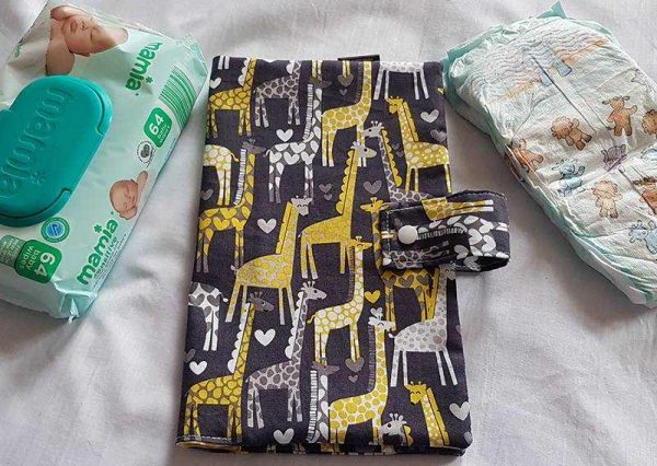 Giraffe Nappy Wallet
