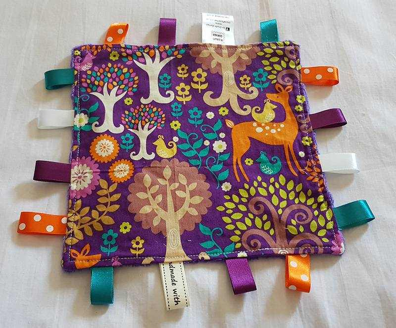 Purple Forest Tag Comforter