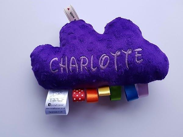 Purple Cuddle Cloud