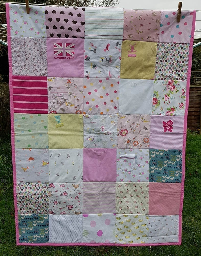 Cot Size Memory Blanket