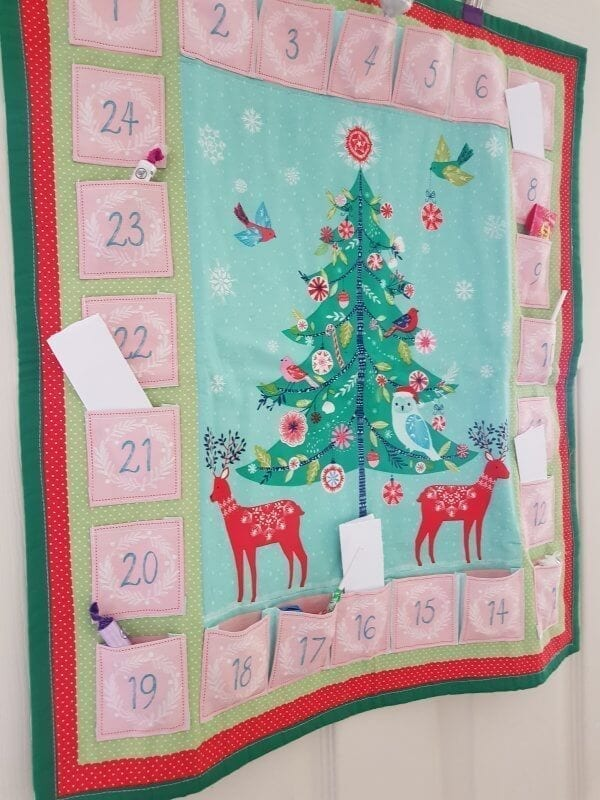 Green Tree Advent Calendar