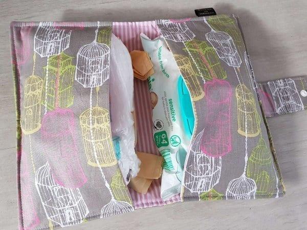 Birdhouse Nappy Wallet