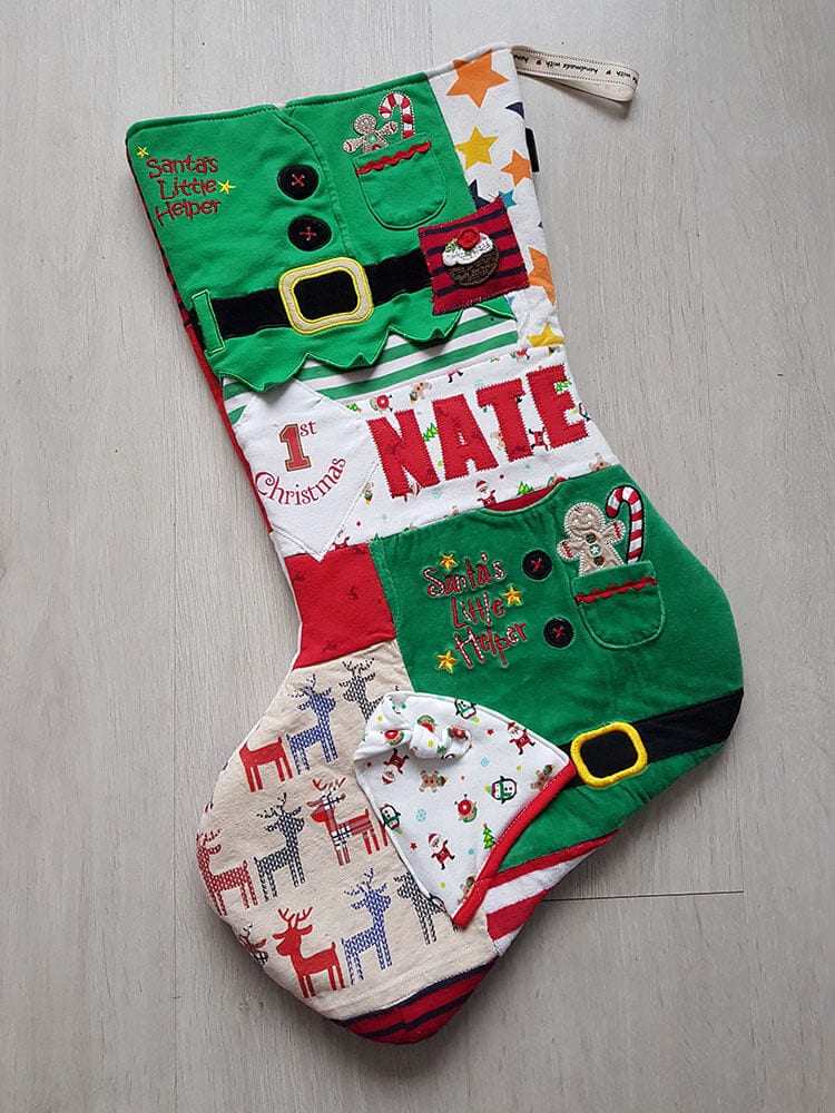 Memory Christmas Stocking