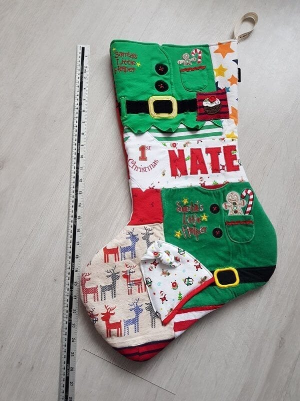 Christmas Stocking Front