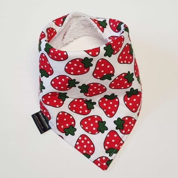 Strawberry Dribble Bib