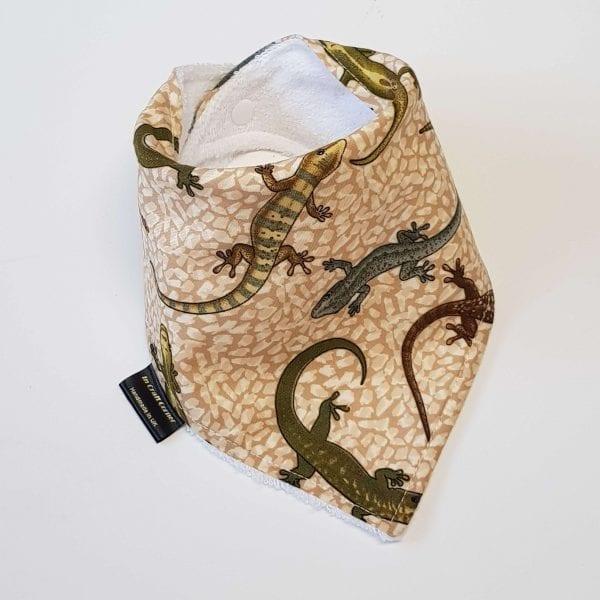 Lizard Dribble Bib