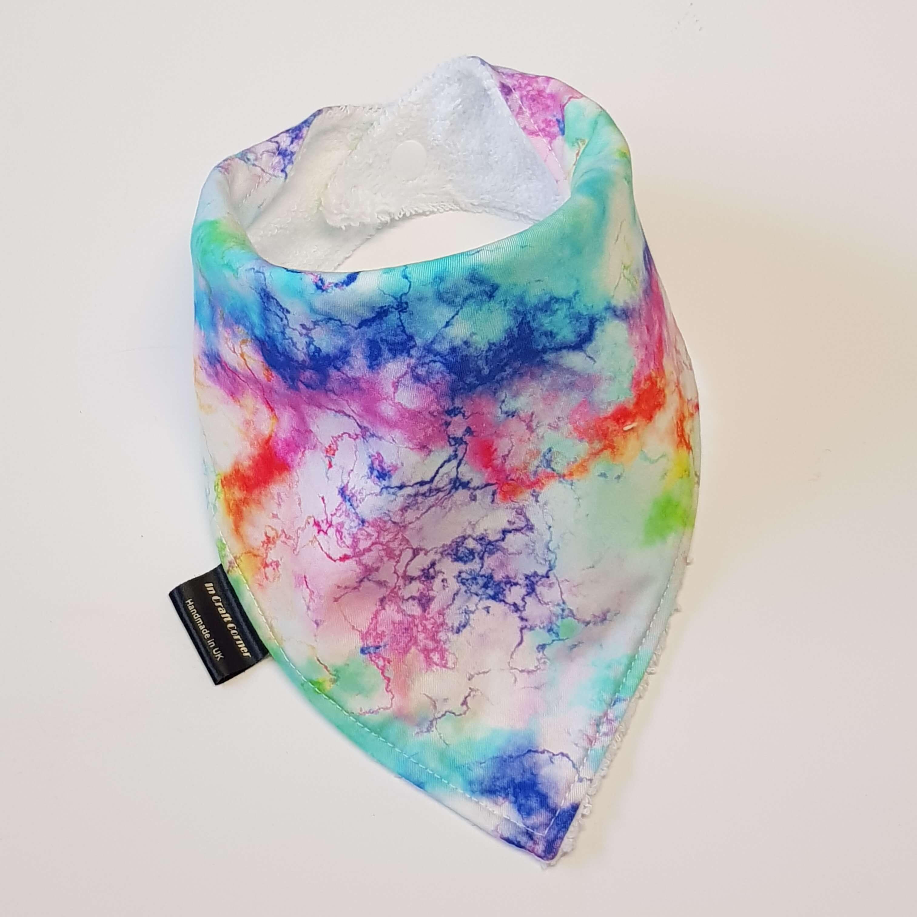 Tie Dye Dribble Bib