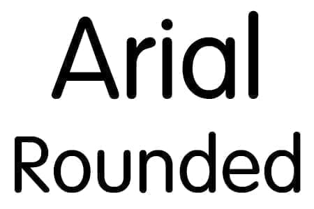 Arial Rounded