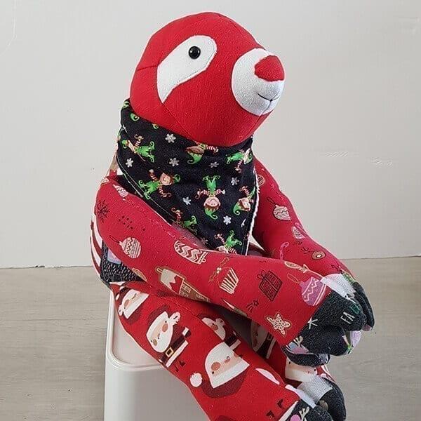 Christmas Sloth Front