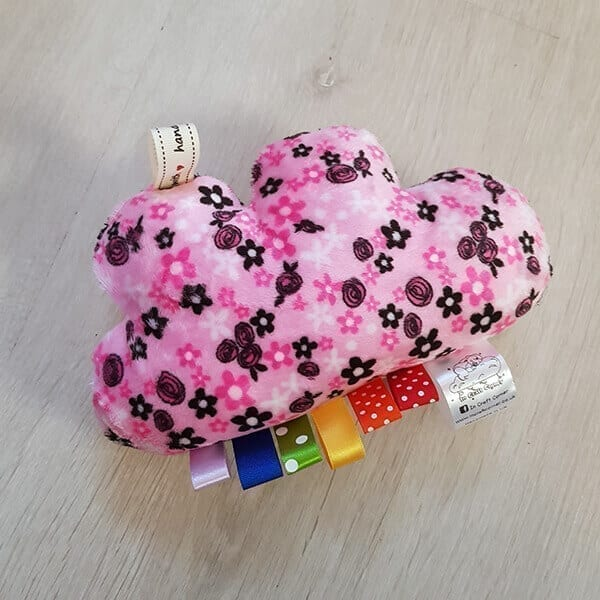 Pink floral cuddle cloud