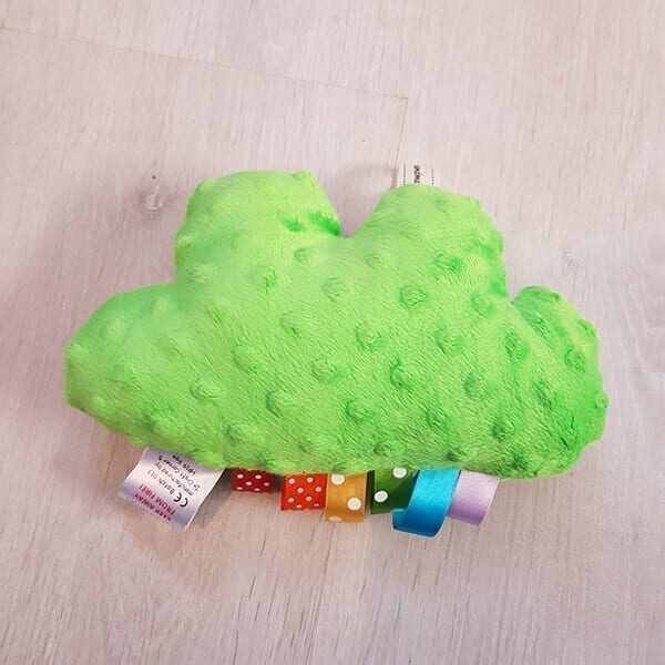 Lime green cuddle clouds