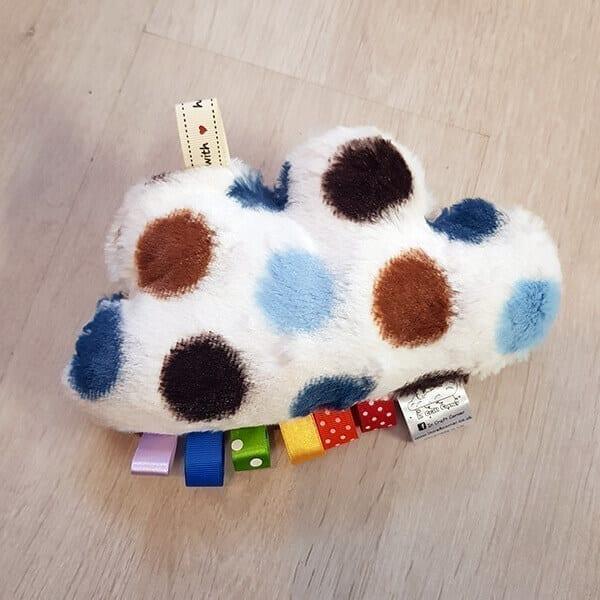blue spots cuddle cloud