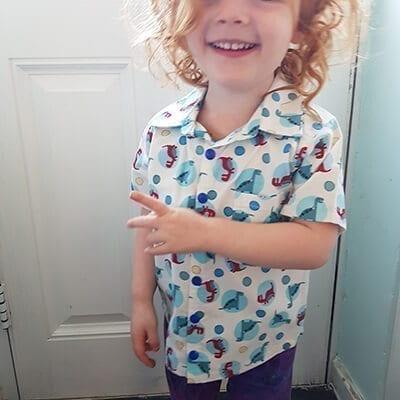 Dinosaur shirt 2-3yrs