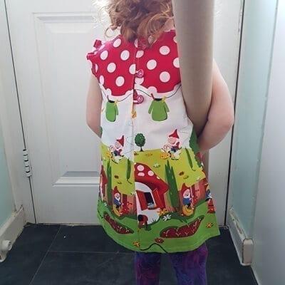 gnome dress back