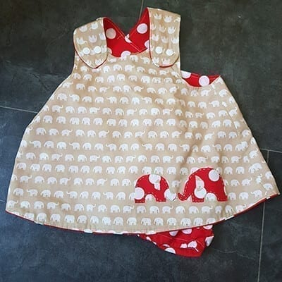 Elephant Cross Over dress