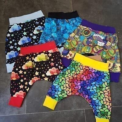 Newborn Harem Trousers