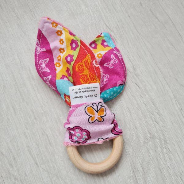 happy hills teething ring
