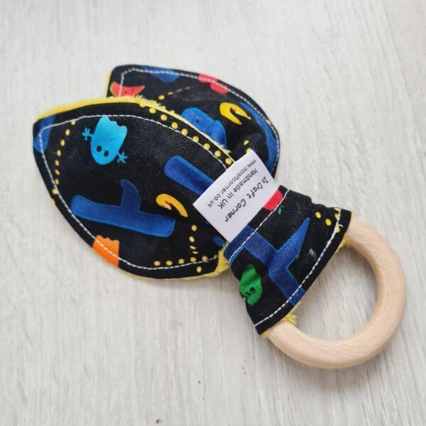 pacman teething ring