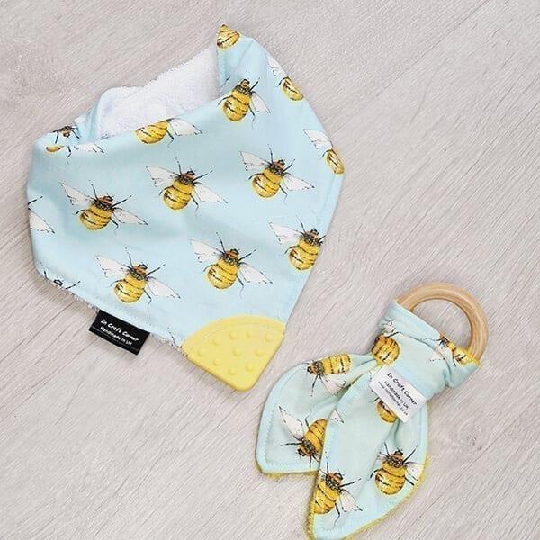 Bees Teething Bundle