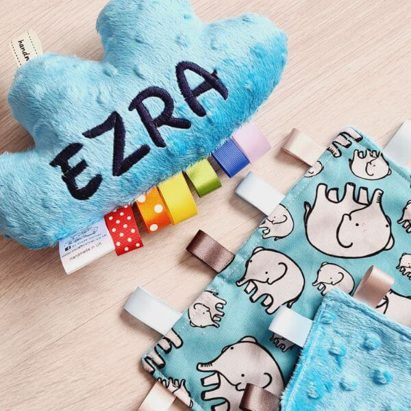 Blue Elephants 2 piece bundle