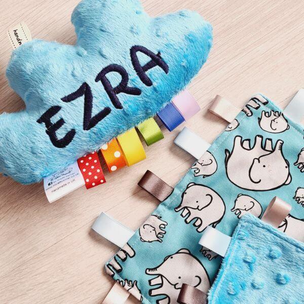 Blue Elephants 2 piece bundle