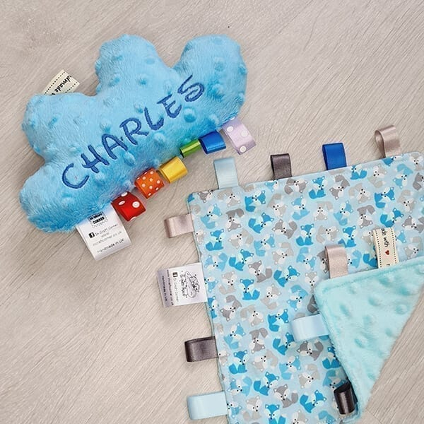 Blue Foxes 2 piece bundle