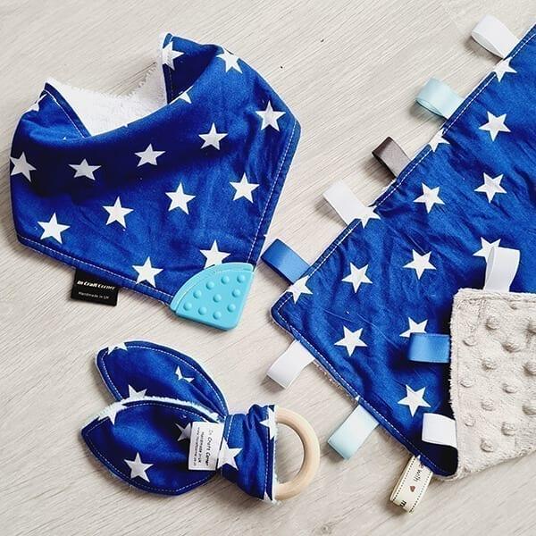 blue stars 3 piece bundle