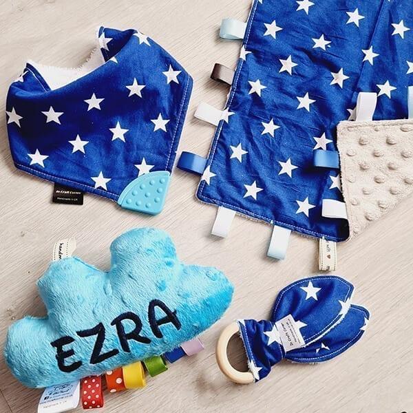 blue stars 4 piece bundle