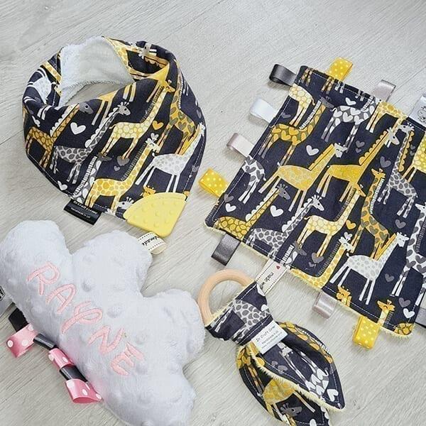 giraffes 4 piece bundle