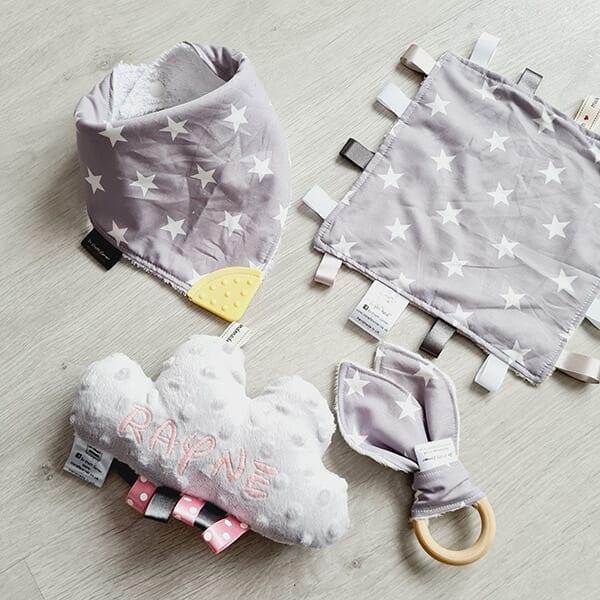 grey stars 4 piece bundle
