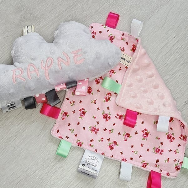 pink floral 2 piece bundle