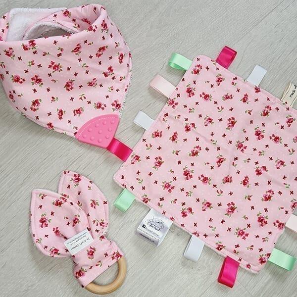 pink floral 3 piece bundle