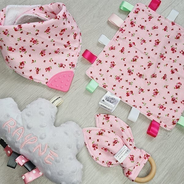 Pink Floral 4 piece bundle