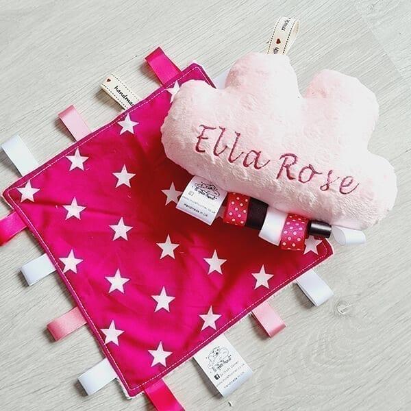 Pink stars 2 piece bundle