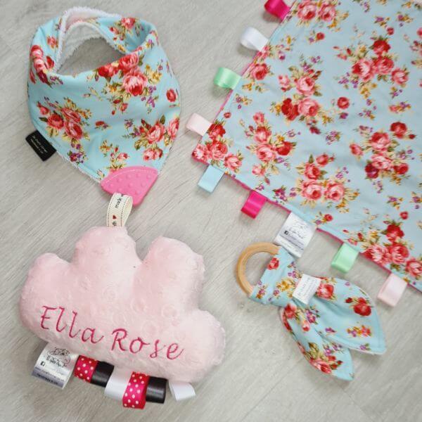 sky floral 4 piece bundle