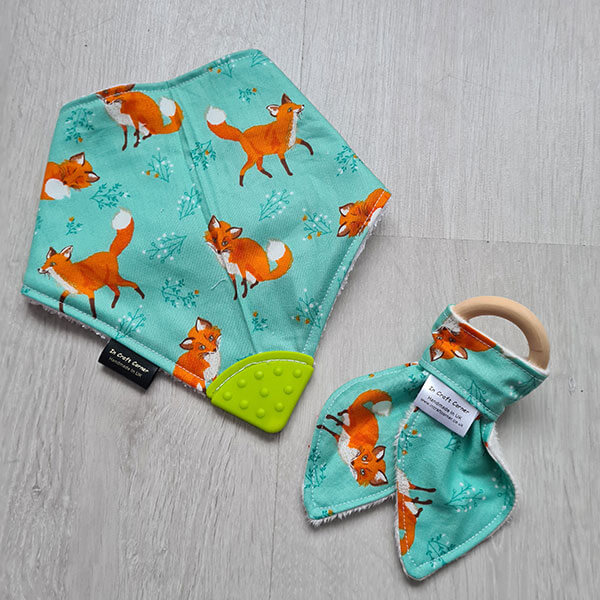 Green Fox Teething Bundle