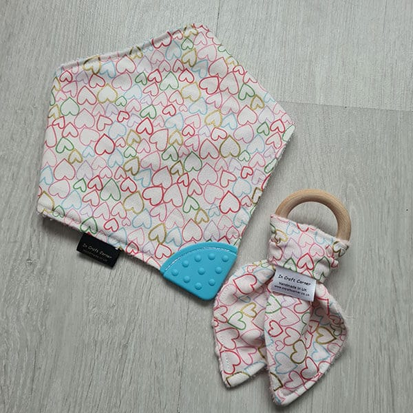 Hearts Teething Bundle