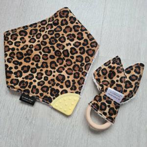 Leopard Print Teething Bundle