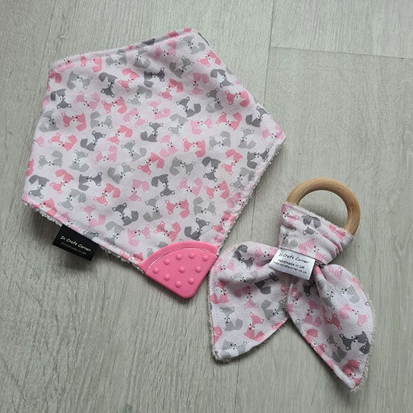 Pink Fox Teething Bundle