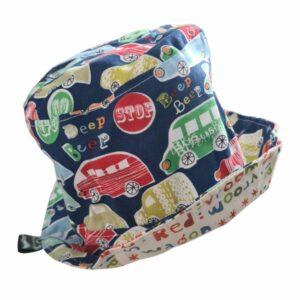 Beep Beep Cars Kids Sun Hat