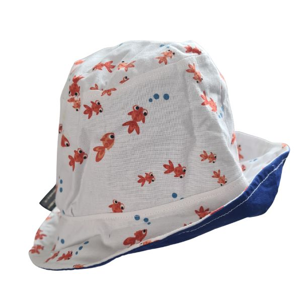 Goldfish kids sun hat