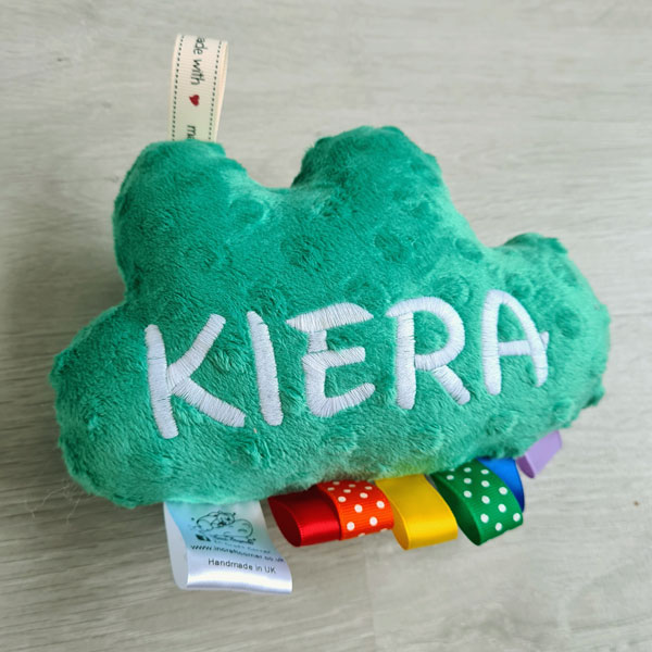 Green Cuddle Cloud