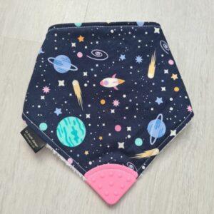Space Teething Bib
