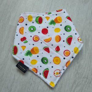 Summer Fruits Dribble Bib