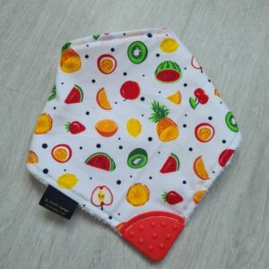 Summer Fruits Teething Bib