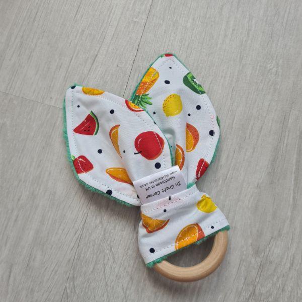 Summer Fruits Teething RIng
